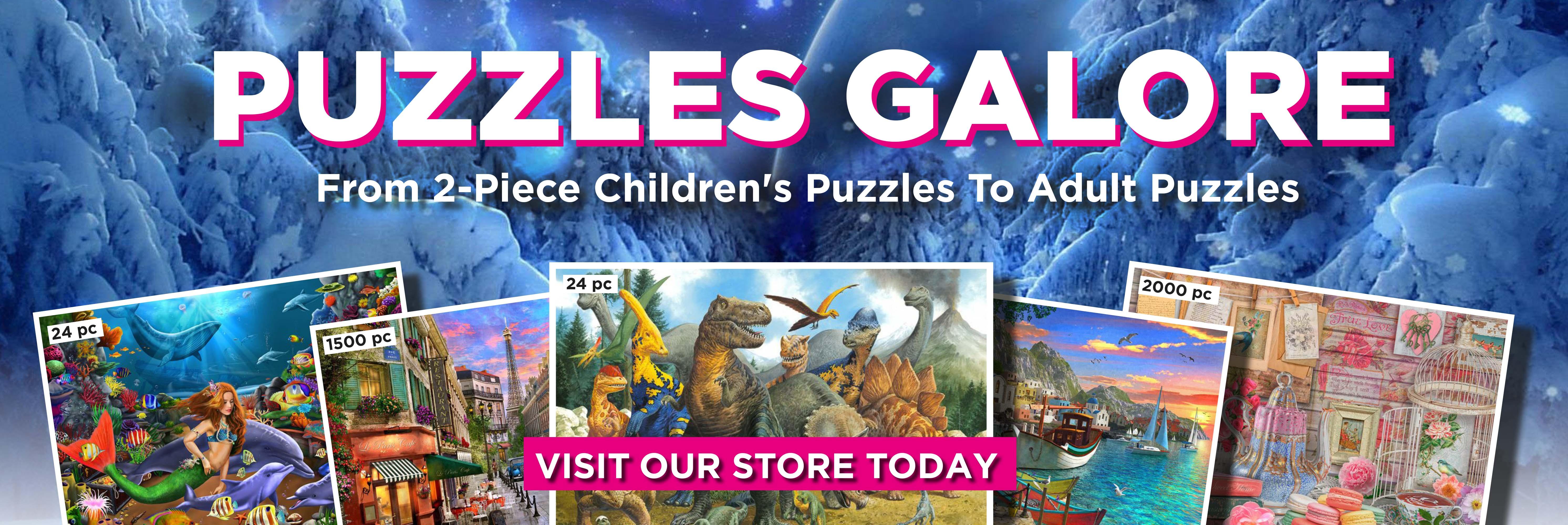 Puzzle Promo Web Banner